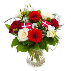 hip hip hurra fødselsdag happy birthe day bestil online www.aarstidens-blomster.dk
