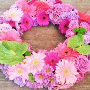 Kraftige pang farver fra Aarstidens Blomster