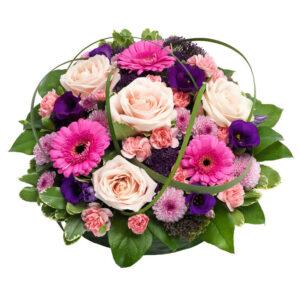 Yndig blomsterpude fra Aarstidens Blomster
