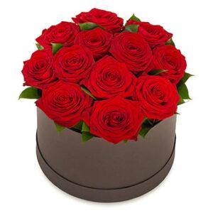 Roser i æske