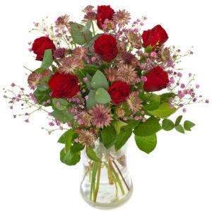 Røde roser skønhed